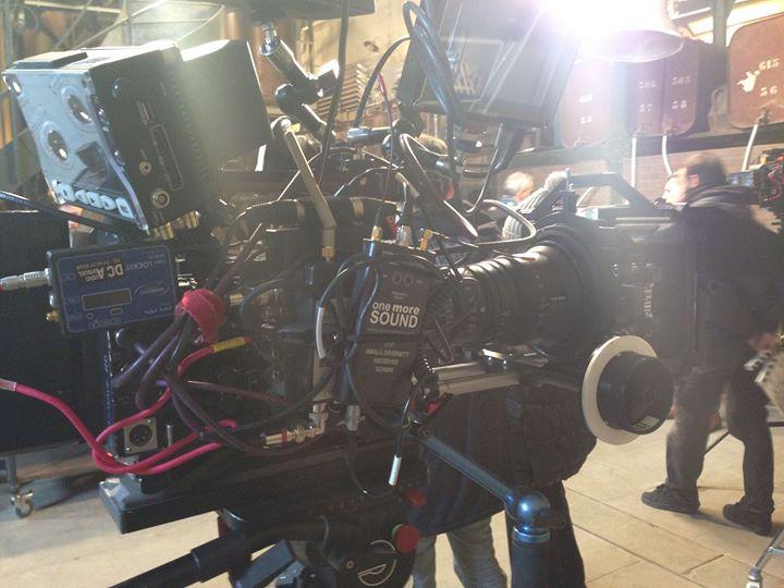 ça cartoon chez one more sound tournage France3 pour Kayenta
