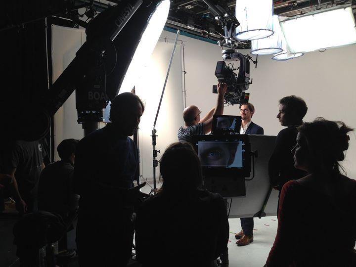 En tournage Pub avec Aprile Productions