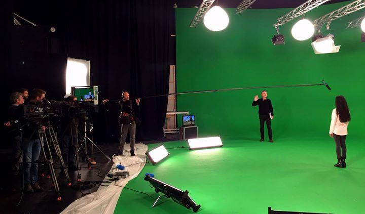 En tournage avec Kayenta pour une émission speciale Toons